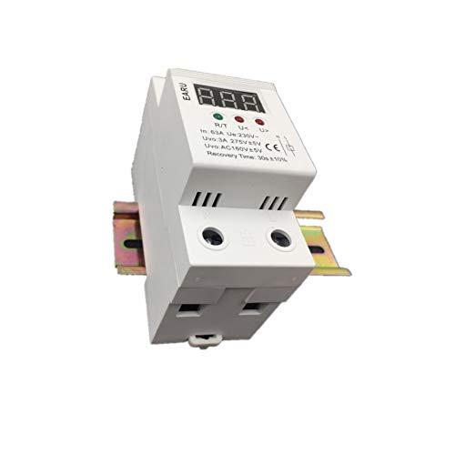 HMSTT Leistungsschalter Die Anzahl Der Pole: 2P <Br/> Nennstrom: 63A <Br/> Lichtbogenlöschmethode: Magnetischer Schlagschutzschalter <Br/> Gewicht Des Pakets: 0.19Kg (0.42Lb.) <Br/> Paketgröße: 1Cm - Pole Leistungsschalter