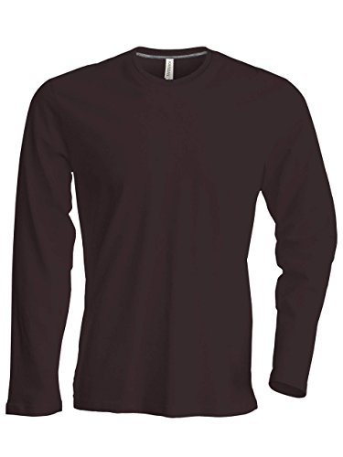 Kariban -  T-shirt - Uomo Marrone