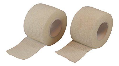 Grip Tape für Sportarten wie Hockey und Baseball (2Pack) von tapeowl, weiß -