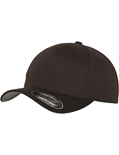 Flexfit Erwachsene Mütze Wooly Combed, Brown, L/XL, 6277