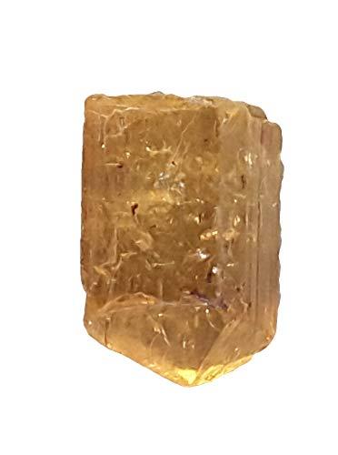 Muttergestein mini Rohstufe aus Mexik Goldtopas Imperial Gold Topas auf Matrix
