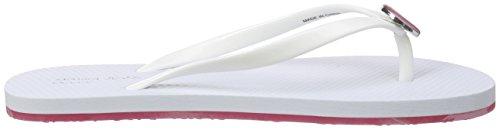 Armani C55f132, Sandali Donna Bianco (Weiß (BIANCO - WHITE 1C))