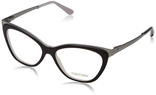 Tom Ford Damen Ft5374 Brillengestelle, Braun (Marrone Scuro/ALTRO), 54