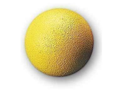 Balle de baby-foot-liège-jaune