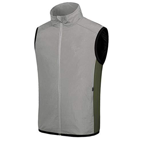 VJGOAL Sweatshirt Damen Herren Sommer Große Größen Abkühlen Lassen Sonnencreme Fan Klimaanlage Anzug Tops USB-Kabel - Weben Blazer Jacke