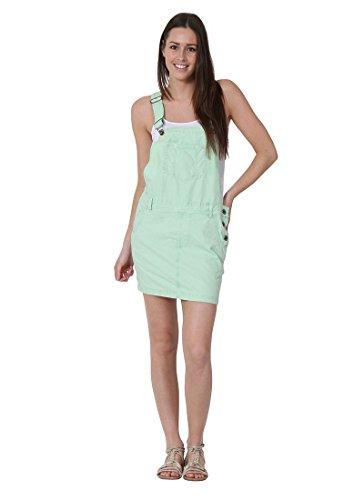 USKEES CLAIRE Kurze Latz Kleid übergroße Oversized Latzhosenkleid Damen-Latzklei CLAIREMINT-16