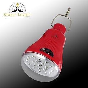 Stablelights.co.uk Stall-Lampe / Schuppen-Beleuchtung, leistungsstark, hell, solarbetrieben, mit Fernbedienung Kein Stromnetz erforderlich.