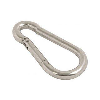 Bulk Hardware Snap Hook 3/16 Inch (M5) BZP Pack Of 5