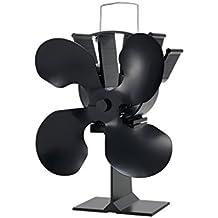 Generic ventilador de estufa Ecofan cuatro hoja de aluminio