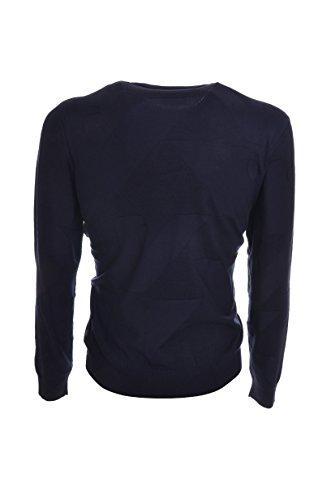 maglia uomo Armani Jeans modello 6Y6MF56M0IZ Blu scuro