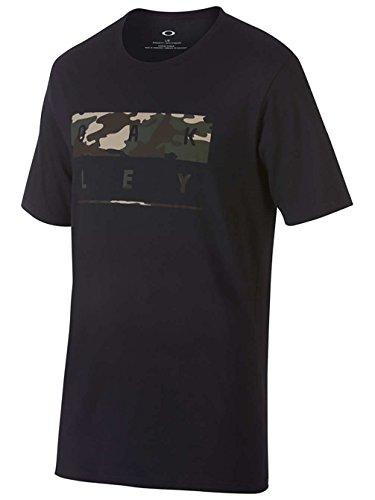 Oakley Herren 50 Stack T-Shirt, Blackout, S