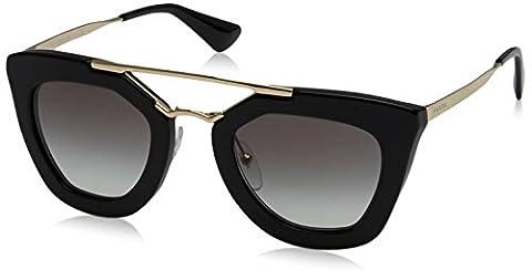 Prada femme 0PR 09QS Montures de lunettes, Noir (Black), 53