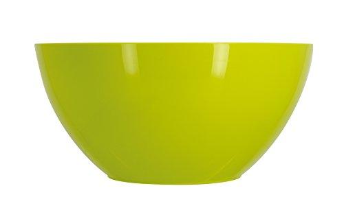 TheKitchenette 5040850 Saladier Grand Format, Plastique, Vert, 28 x 28 x 13 cm