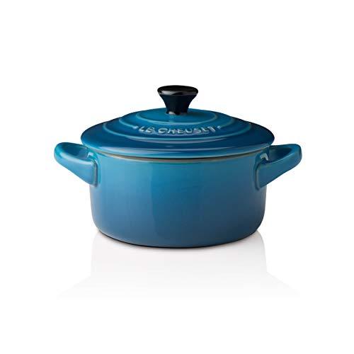 Le Creuset - Mini Cocotte de gres, 0.25 L, color azul marsella