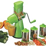 Hallmark 4 In 1 Brings New Premium Multi-Functional Vegetable Grater Rotary Drum Slicer Fruit Cutte