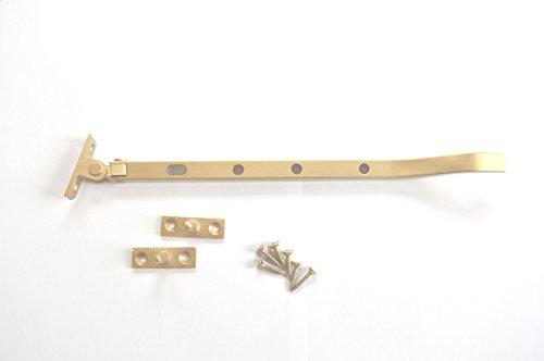 Finestra a battente Rimani Fastener 8 pollici Paa oro Colore con fissaggi pacchetto di 2