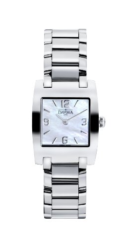 Davosa - 16855884 - Montre Femme - Quartz Analogique - Bracelet Acier Inoxydable Argent