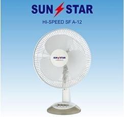 EFI Electronics Sunstar 12V DC Solar Fan, 12-inch (White)