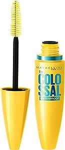 Maybelline New York Volume Express Colossal Masacara, Waterproof, Black, 10ml