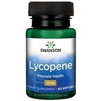 Swanson - Lycopin Hochdosiert 20mg, 60 Kapseln - Herz & Prostata Gesundheit - Starkes Antioxidans Carotinoide... preisvergleich bei billige-tabletten.eu