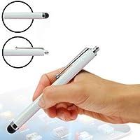 (White) Wiko Highway Star 4G custodia, caso Codice colore dello schermo di tocco Pennino stilo in confezione da 3 By Fone-Case ®