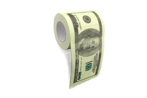 ThumbsUp $100 Dollar Bill papier toilette