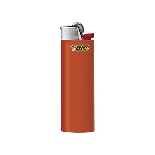 BIC Feuerzeug Reibrad Maxi, neutral, sortiert, 50er Packung, 1er Pack (1 x 50 Stück) - 3