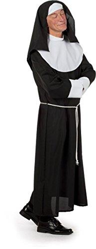 Herren Kostüm Nonne Transvestit Drag Queen Karneval Fasching (Kostüme Transvestit)