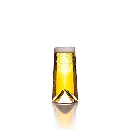 Pilsner Glas Set (Sempli Monti-Pint klare Gläser, Set 2er im Geschenkkarton)