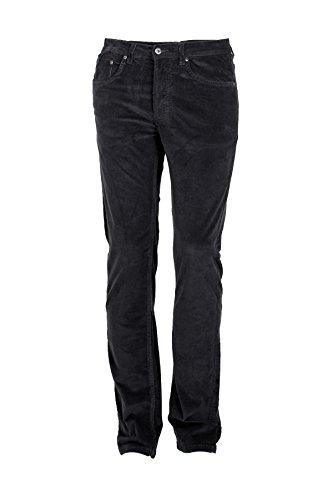Pantaloni 5 tasche velluto grigio, 52