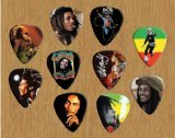 bob-marley-signed-autograph-loose-chitarra-pick-plettro-plettri-x-10-limited-to-500-sets-of-10-pl