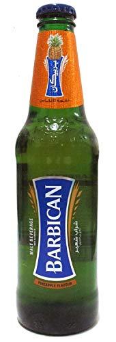 Barbican Non Alcoholic Malt Drink Bottle, Pineapple Flavour 330ML (Set of 2)