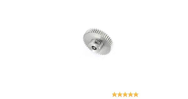 58Pcs Zahnräder M0.5 für Bewegungsrobotikmodell WellenHHW