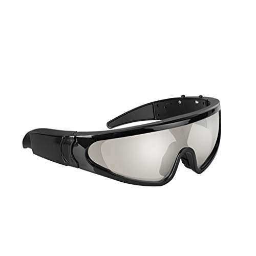 GLJJQMY Outdoor-Sport-Glas-Sonnenbrille Kamera High-Definition-Videokamera Reiten Bluetooth-Kopfhörer