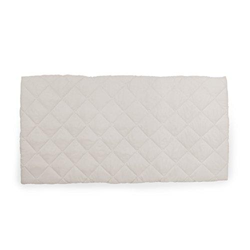 Hauck Bed me Reisebetteinlage, beige, weiß, 120 x 60 cm