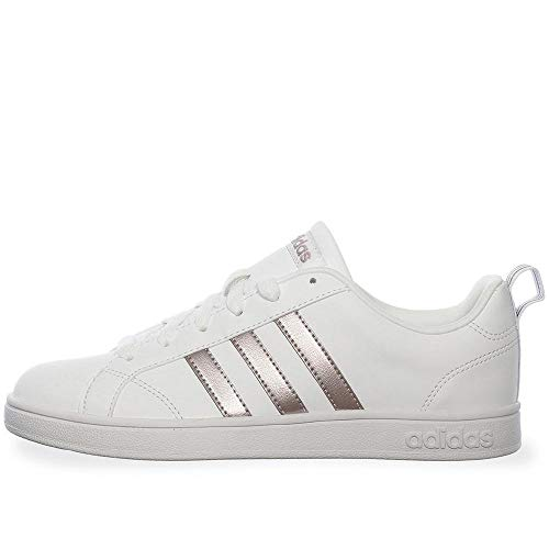 adidas Vs Advantage Scarpe da Tennis Donna, Bianco (Ftwr White/Ftwr White/Grey Two F17 Ftwr White/Ftwr White/Grey Two F17), 38 2/3 EU