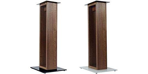 Norstone Alvä Sol Verre Bois support de haut-parleurs - Supports de haut-parleurs (Sol, 20 kg, Bois, Verre, Bois, Sol, France)