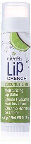 BODY DRENCH Moisturizing Fruity Lip Balms Coconut Lime