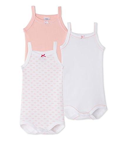Petit Bateau Baby - Mädchen Body à bretelles_21865 Bodys,,3er Pack|#3per pack Mehrfarbig (special 00),104 (4ans/104cm)