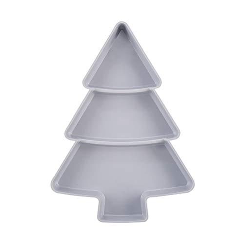 TianranRT Kreativ Form Baum Perfekt Für Samen Nüsse Und Trocken Obst Lagerung Box (Grau)