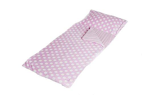 snuggle-sac-fleecedecke-korallen-fleece-rosa-mit-weien-punkten