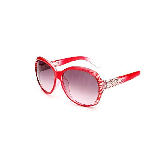 Sport-Sonnenbrillen, Vintage Sonnenbrillen, Oval Sunglasses Women Retro Vintage Sun Glasses For Women Brand Designer Ladies Sunglasses Female Oculos Gafas De Sol Mujer Red