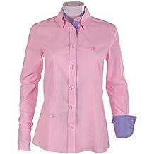 Pasión Morena 84PA020550704 Camisa, Mujer, Rosa, ...