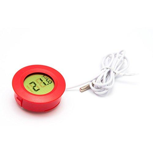 Lantelme 5687 Digital Terrariumthermometer mit Fernfühler Wasserdicht