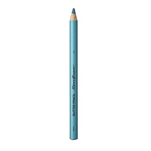 Stargazer Products Glitzer Kajal/Lippenstift, aqua, 1er Pack (1 x 1 g)