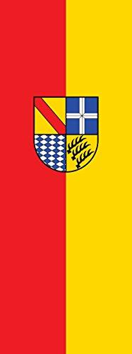magFlags Flagge: Karlsruhe (Kreis) | Hochformat Fahne | 6m² | 400x150cm » Fahne 100% Made in Germany