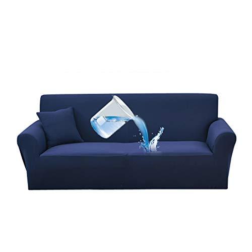 Eternalove copridivano salotto 1/2/3/4posti estensibile impermeabile, blu, 2 places: 145-185cm