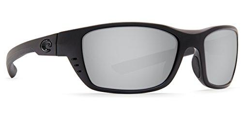 c87e2efbd1 Costa Del Mar 580p Gafas de sol opacas, color gris y plateado