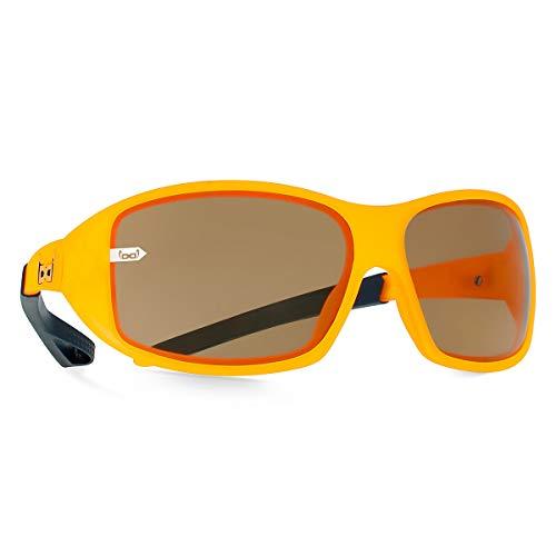 gloryfy unbreakable eyewear Kinder Junior orange Sonnenbrille, Uni