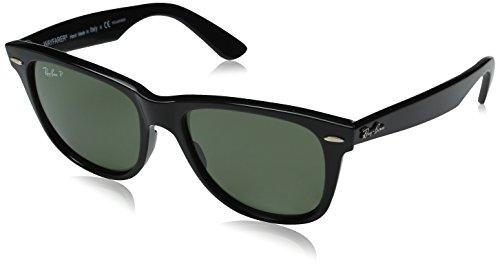 Ray-Ban Caravan Square Aviator Sunglasses Arista Gold RB3136 001 55 Crystal Green